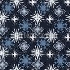 Winterliche Schneeflocken Muster Design