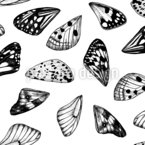 Butterfly Wings Seamless Vector Pattern Design