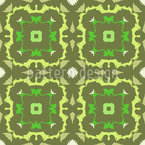Natural Chequer Seamless Vector Pattern