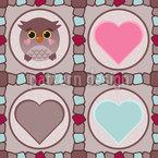 Cute Owl Vector Ornament