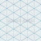 Geometrische Ethnische Stilisierung Nahtloses Vektormuster