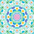 Tiled Mandala Repeating Pattern