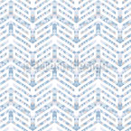 Zigzag Arrows Seamless Vector Pattern Design