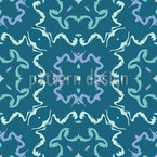 Deformed Frames Seamless Pattern