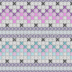 Cozy Cross Stitch Repeat Pattern