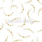 Glitter Beads Seamless Vector Pattern Design