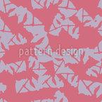 接続されたシェイプの抽象 シームレスなベクトルパターン設計