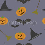 Witch Hat And Pumpkin Repeat