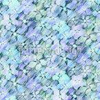 Blumen Unter Wasser Nahtloses Muster