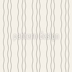 Vertical Wavy Stripes Seamless Vector Pattern Design