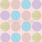 Pastel Circles Repeat Pattern