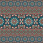 Arabischer Luxus Nahtloses Vektor Muster