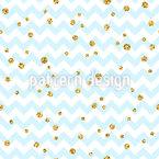 Confetti Zigzag Seamless Vector Pattern Design