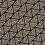 Movement Of Triangles Seamless Pattern