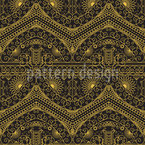 Arabic Vintage Geometry Vector Pattern