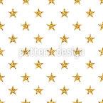 Estrelas Glitter Design de padrão vetorial sem costura