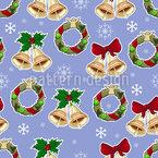 Magia de Natal Design de padrão vetorial sem costura
