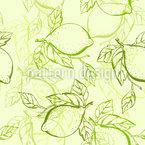 Lemon Seamless Vector Pattern Design
