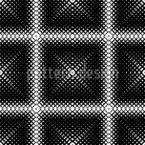 Quadratische Löcher Nahtloses Vektormuster