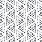 Dreieck-Spirale Nahtloses Vektormuster