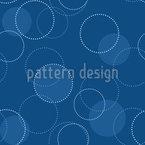 Klassische Kreise Rapportiertes Design
