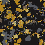 River Pebbles Seamless Vector Pattern Design