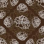 Rosentraum Braun Nahtloses Muster