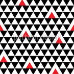 Geometría de triángulo Estampado Vectorial Sin Costura