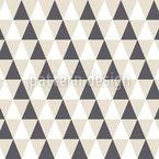 Einfache Dreieckgeometrie Rapportiertes Design