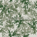 Camouflage Green Seamless Vector Pattern Design