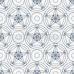 Mystische Sterne Designmuster