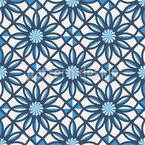 Arabic Tile Geometry Seamless Vector Pattern