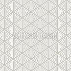 Einfache Dreieckige Formen Nahtloses Vektormuster
