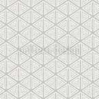 Simple Triangular Shapes Seamless Vector Pattern Design