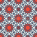 Arabic Mosaic Geometry Seamless Pattern