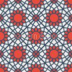 Arabische Mosaikgeometrie Nahtloses Muster