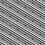Linien Aus Geometrischen Formen Nahtloses Vektormuster