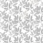 Little Leaf Silhouttes Vector Ornament