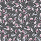 Feathery Dream Seamless Pattern