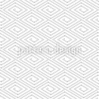 Ethnic Triangles Seamless Vector Pattern Design