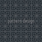 Arabische Geometrische Kacheln Nahtloses Vektor Muster