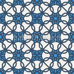 Arabische Mosaikgeometrie Vektor Muster