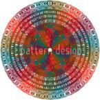 Hridaya Kamalam Seamless Vector Pattern Design