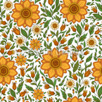 Floral Spring Dream Repeat Pattern