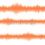 Batik Streifen Orange Nahtloses Vektormuster