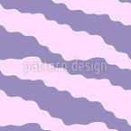 Cute Wavy Lines Seamless Vector Pattern Design