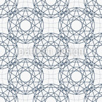 Linear Suns Seamless Vector Pattern Design