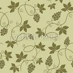 Trauben Und Blätter Nahtloses Muster