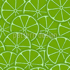 Lime Party Repeat Pattern