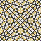 Vintage Arabic Seamless Vector Pattern Design